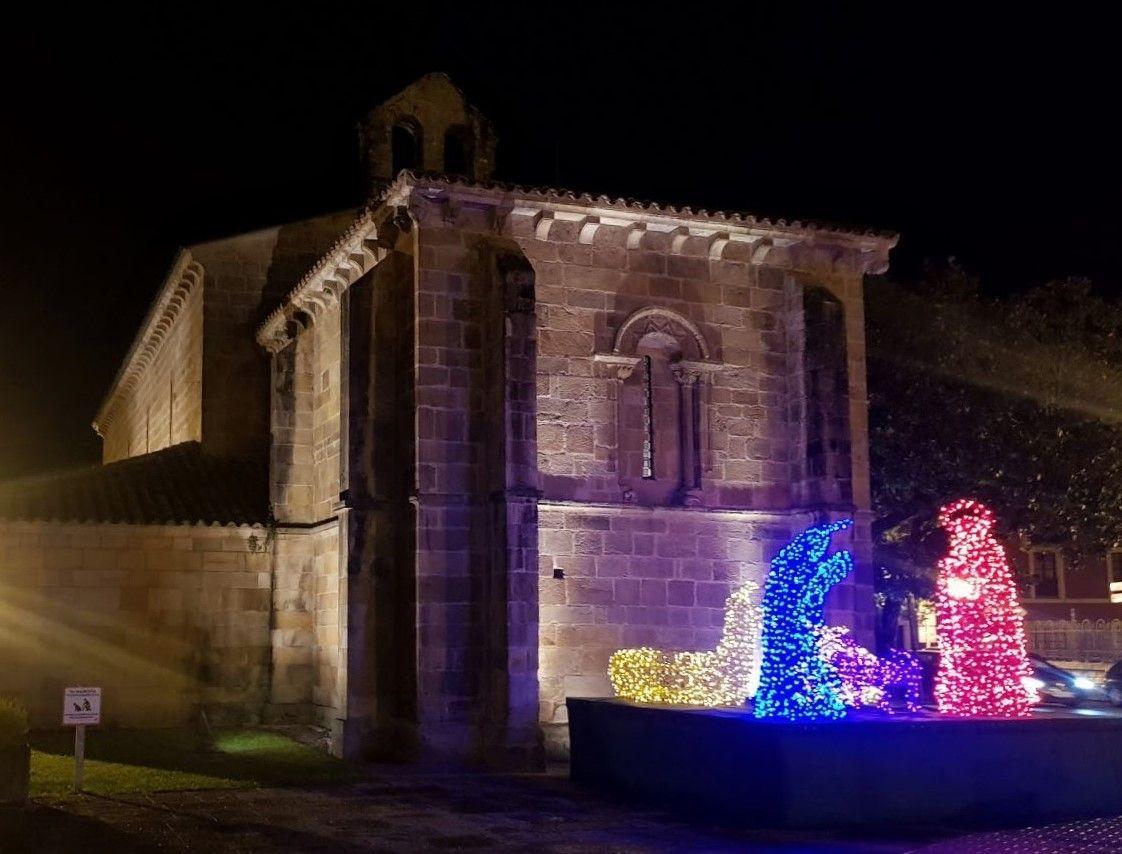 LNE 2  Bel�n en la iglesia de La Oliva .jpg