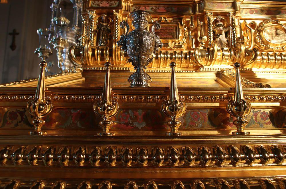 Presentación del nuevo trono de Jesús Resucitado