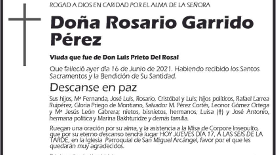 Rosario Garrido Pérez