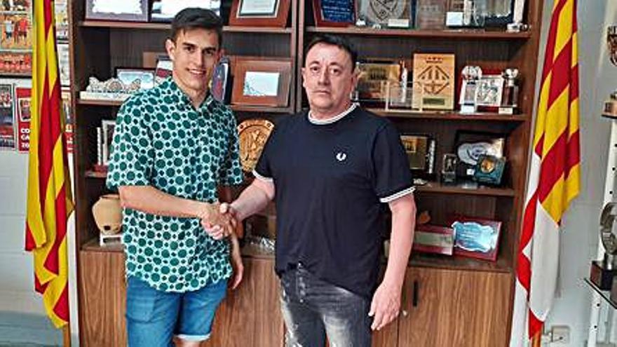 Carlos Lavado torna al primer equip del Manresa
