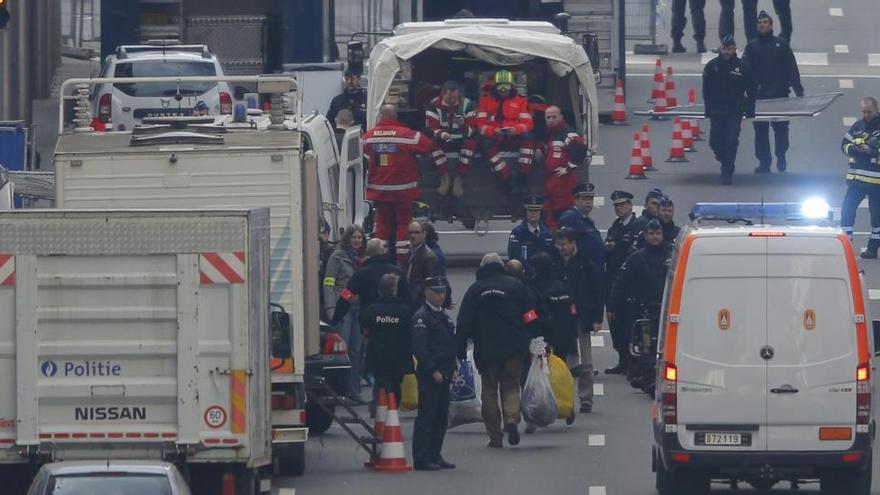 Bélgica juzgará a diez sospechosos por los atentados de Bruselas