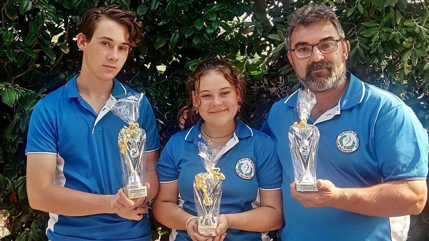 Los Valles triunfa en el Campeonato de Recorridos de Galicia