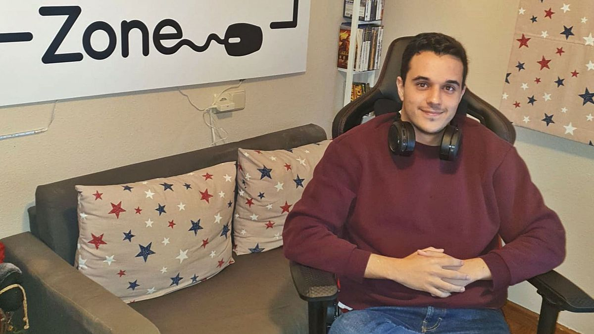 Jose Haro comenzó durante la pandemia con su canal NenitooTV en Twitch