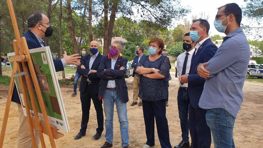 Hugo Morán visita el proyecto Guardian, la infraestructura contra incendios forestales más grande de Europa