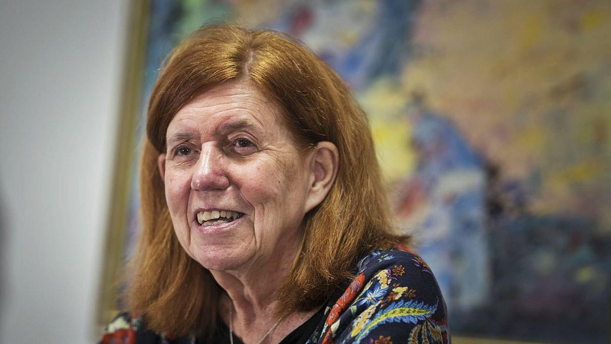 La escritora Cecilia Domínguez Luis.