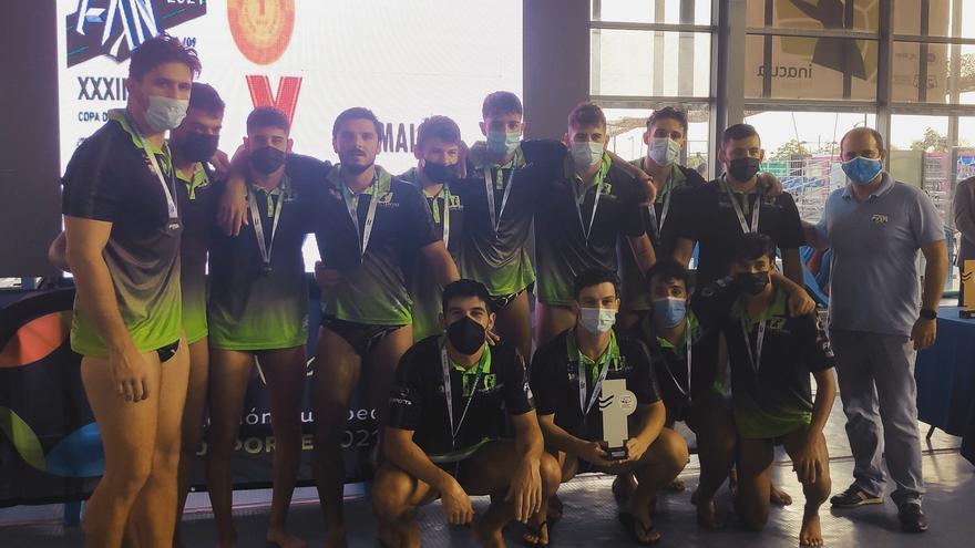 El Waterpolo Málaga, subcampeón con honores de la Copa Andalucía