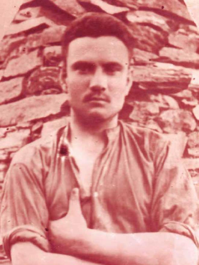 José Andrino Muñoz, fusilado en 1938.