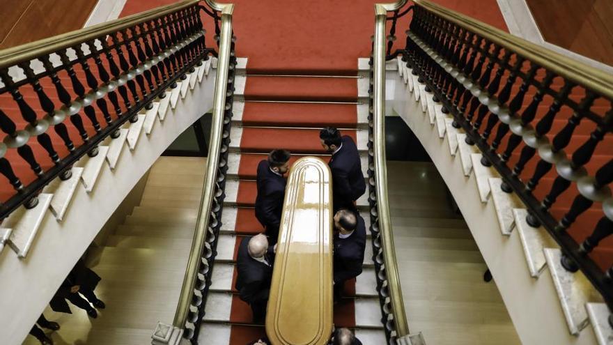 Muere Vicente Álvarez Areces: Así fue la despedida de los gijoneses de quien fuer alcalde de la ciudad