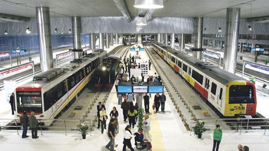 Die U-Bahn auf Mallorca soll 2019 weitergebaut werden