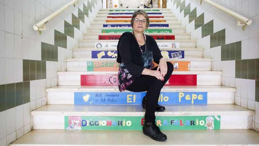 La directora de La Vallina deja la tiza