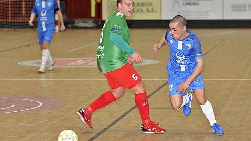 El A Estrada Futsal da un importante paso con una victoria ante el líder