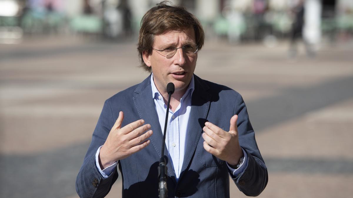 El alcalde de Madrid y portavoz nacional del PP, José Luis Martínez-Almeida