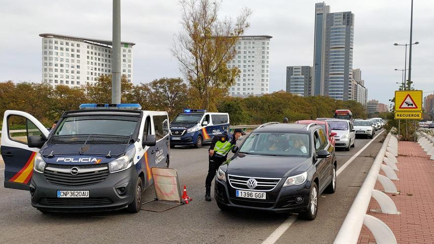 València, cerrada por segundo fin de semana consecutivo