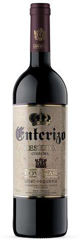 El vino tinto Enterizo Reserva representó la DOP Utiel-Requena durante el pasado año.