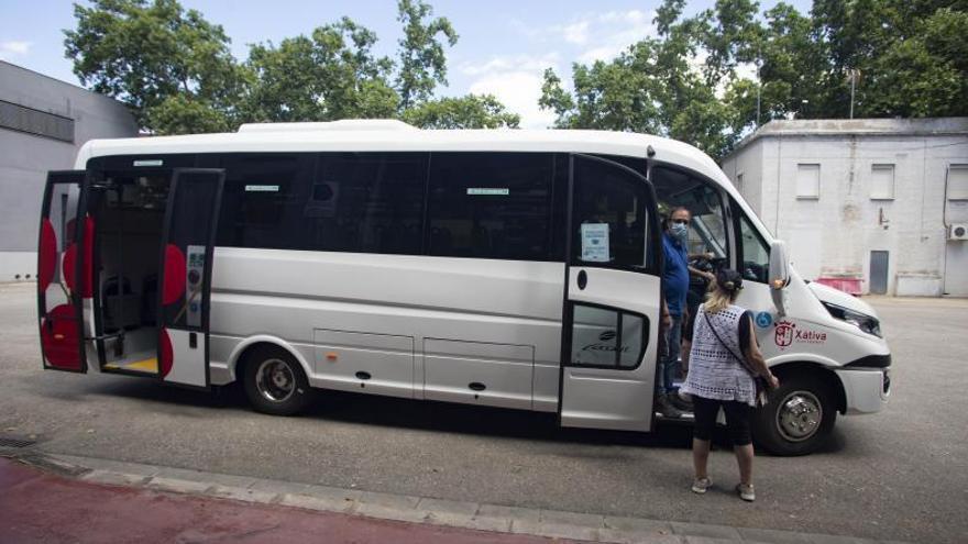 Xàtiva «indemniza» con 36.000 € a la concesionaria del bus