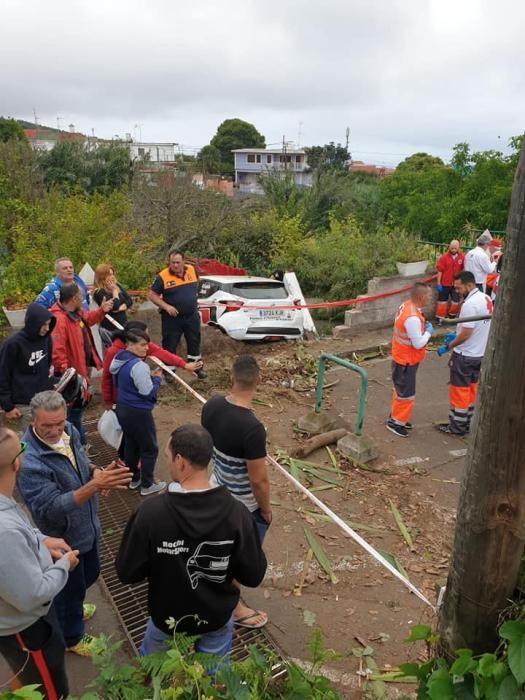 Muere un hombre de 72 años en Rallye de La Laguna