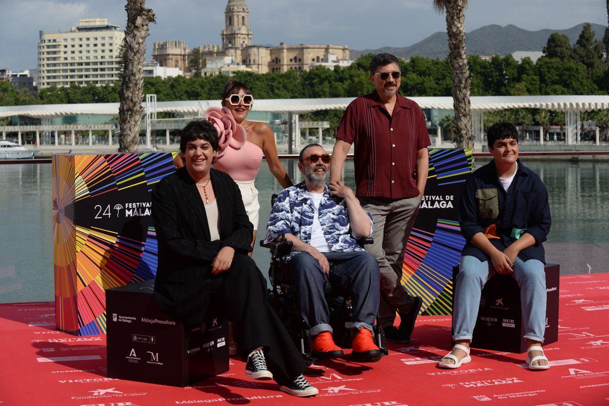 Photocall de 'Maricón perdido' en el 24 Festival de Málaga