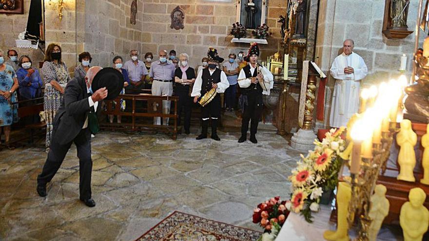 O Hío se queda por segundo año consecutivo sin la ancestral danza en honor a San Roque