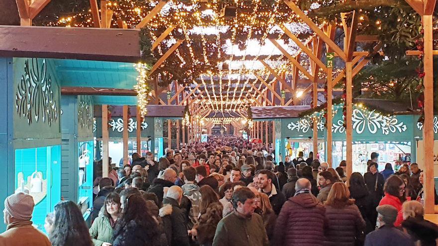 Suma y sigue: la Navidad en Vigo expande sus tentáculos con una nueva atracción