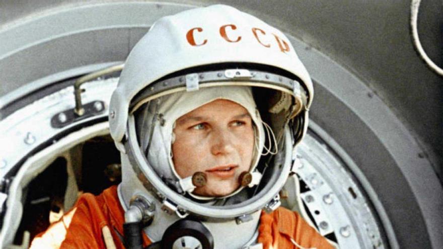 Valentina Tereshkova: Cuando 'Chaika' dio el salto al cielo