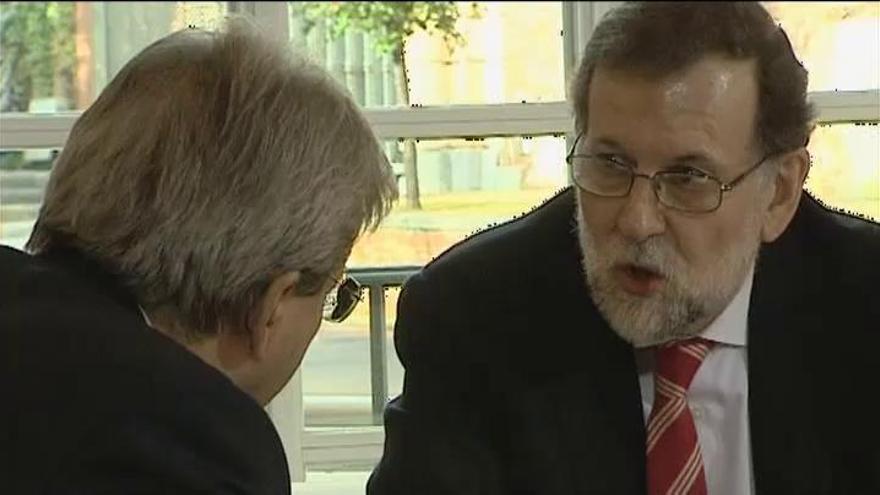 Mariano Rajoy y Paolo Gentiloni se comprometen a relanzar la UE
