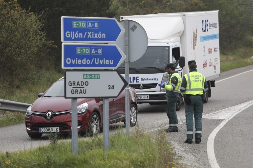 Coronavirus en Asturias: Controles