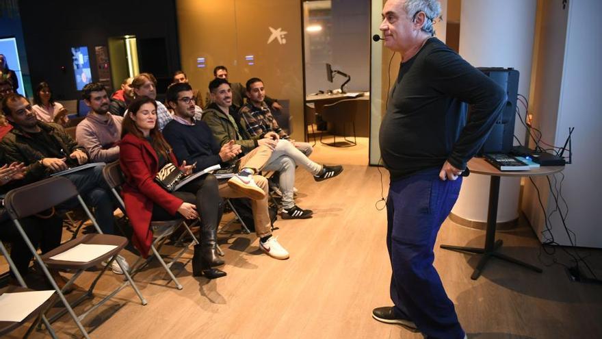 """Ferran Adrià, en A Coruña: """"La próxima revolución estará en la sala"""""""
