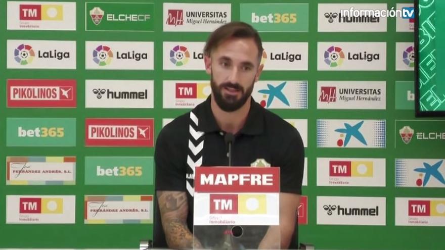 Presentación de Cifu como jugador del Elche CF
