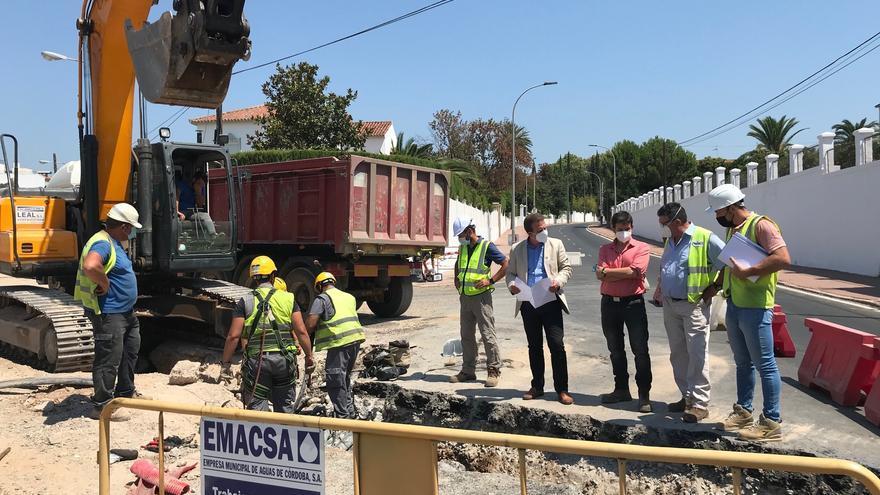 Continúan las obras del Brillante con afección al tráfico en la avenida del Calasancio durante tres días