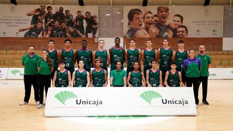 El Unicaja júnior viaja a Valencia para jugar la fase previa de la Euroliga