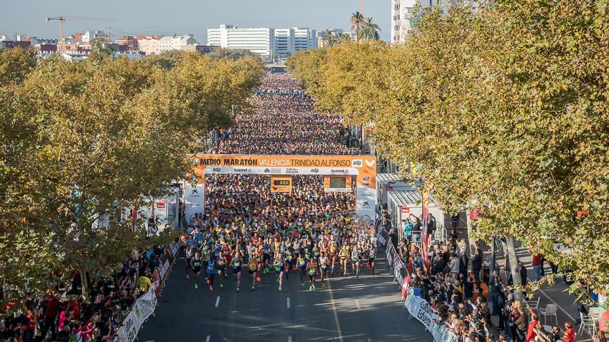 No se pedirá PCR ni antígenos para correr el Medio Maratón de València