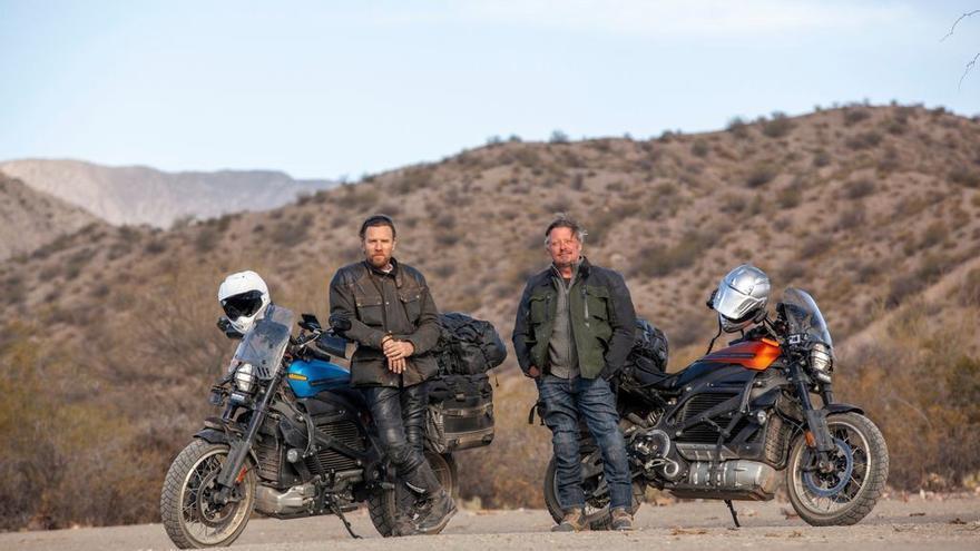 Long Way Up; atravesar Sudamérica en una Harley-Davidson LiveWire