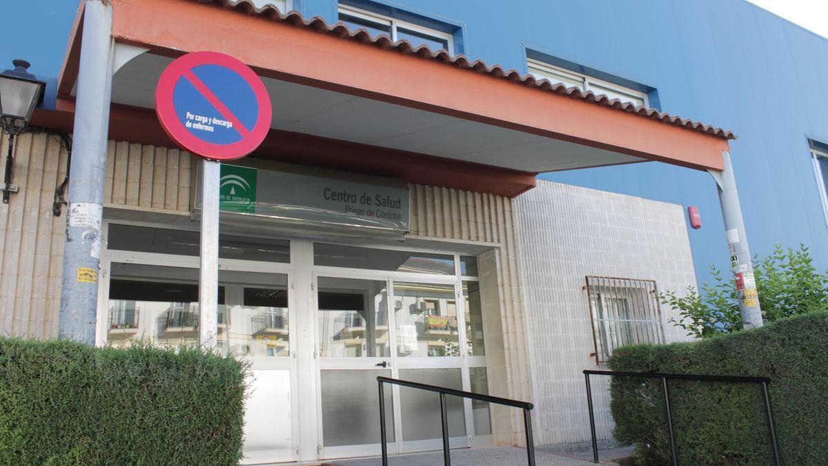 Exterior del centro de salud de Priego.
