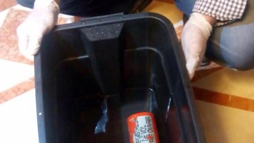 Reparada una de las cajas negras del avión de Egyptair siniestrado