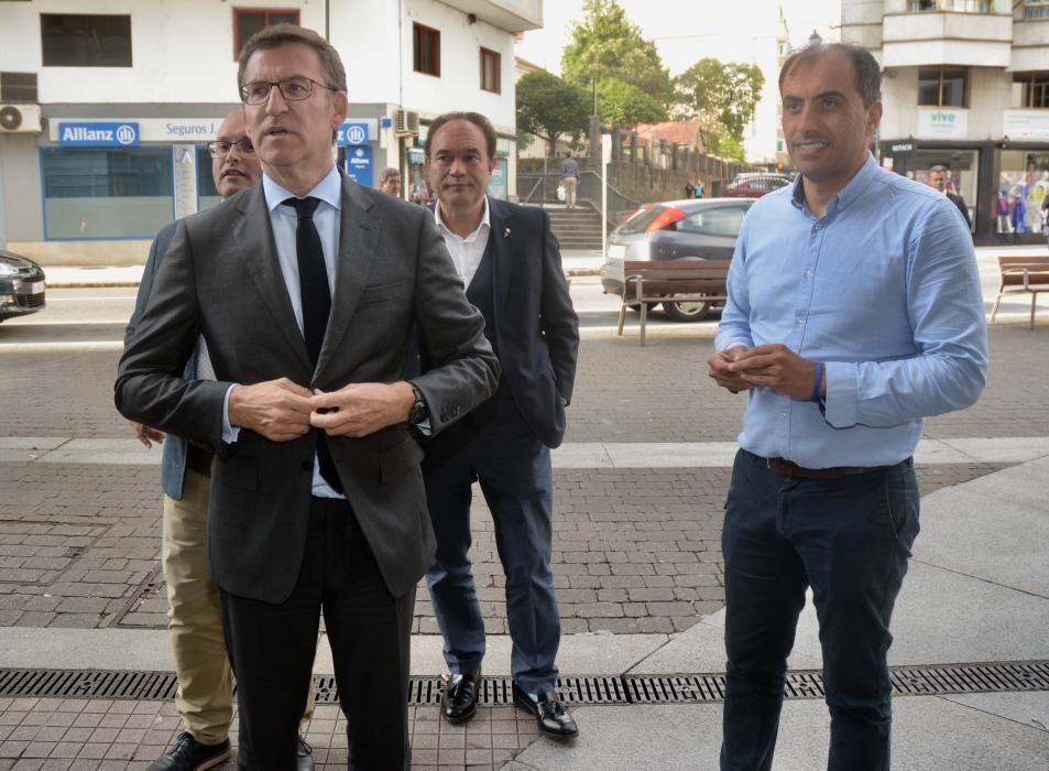 El cónclave del PP de Pontevedra con Feijóo para analizar el 26M