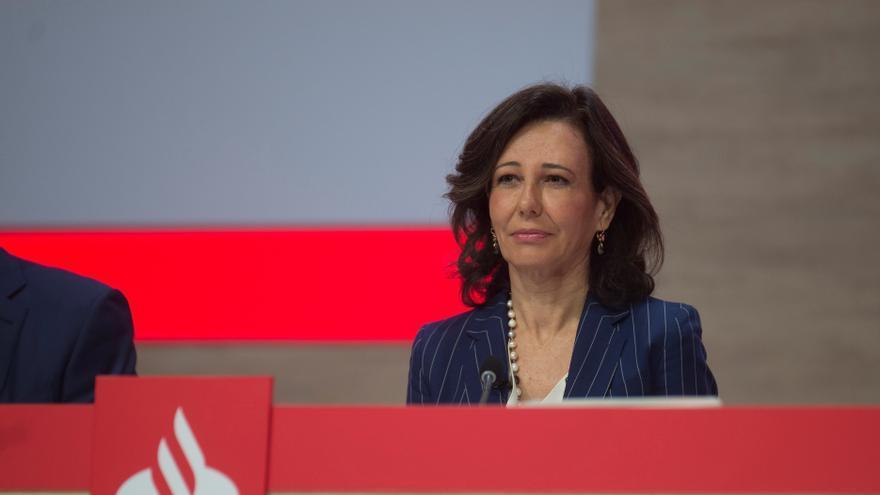 El Banco Santander gana 5.849 millones hasta septiembre