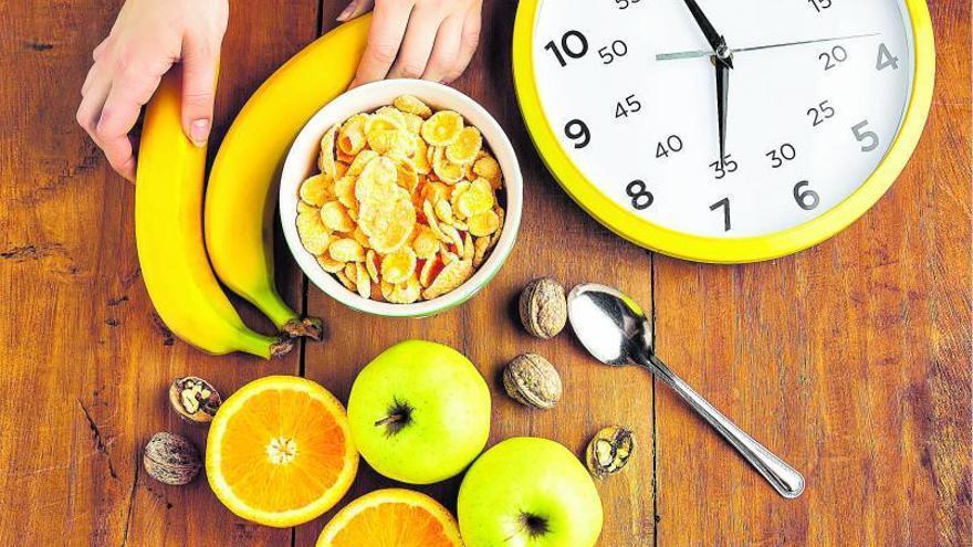 El horario, clave para una dieta saludable