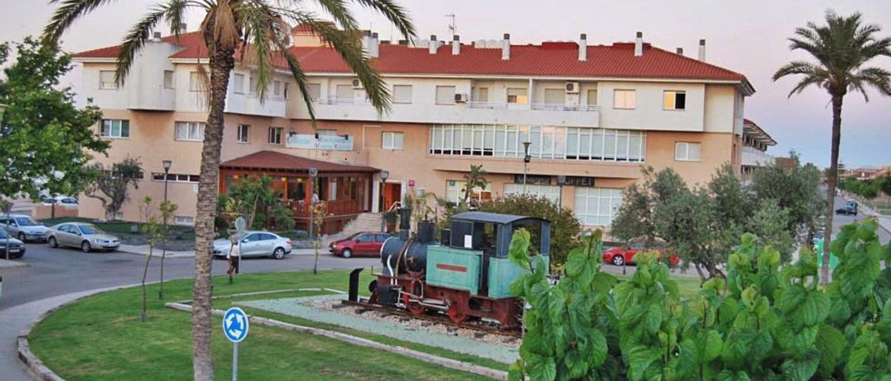 Apartamentos del Montepío en los Alcázares, en Murcia.