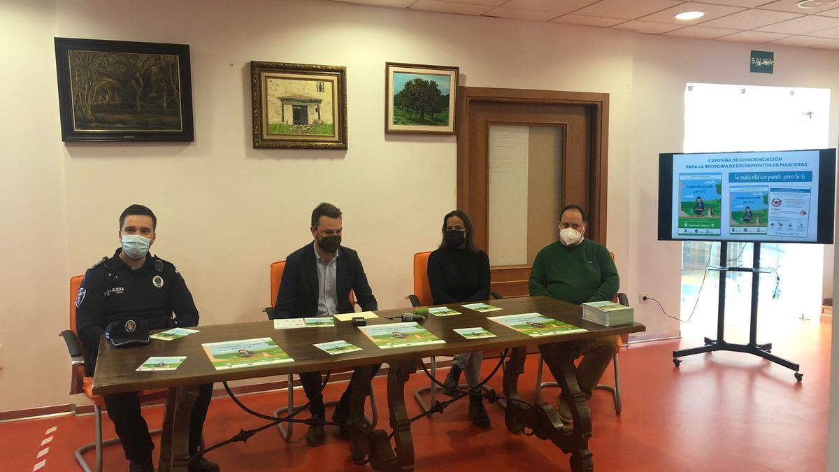 Presentación de la campaña, ayer en Jaraíz de la Vera.
