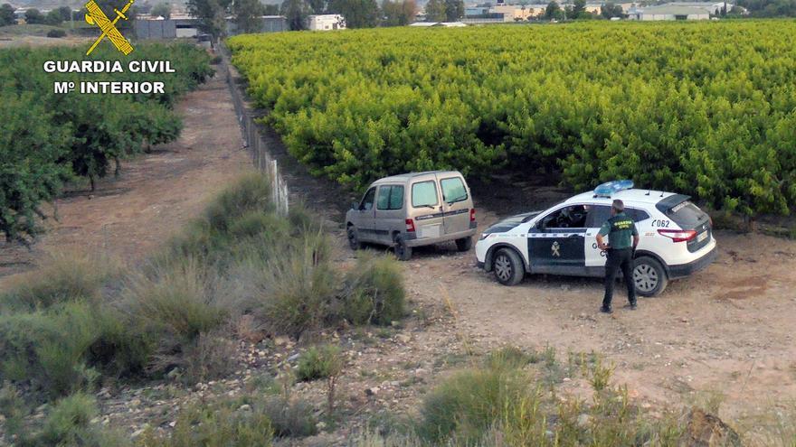 Arrestan a un experimentado delincuente por varios robos en Abarán