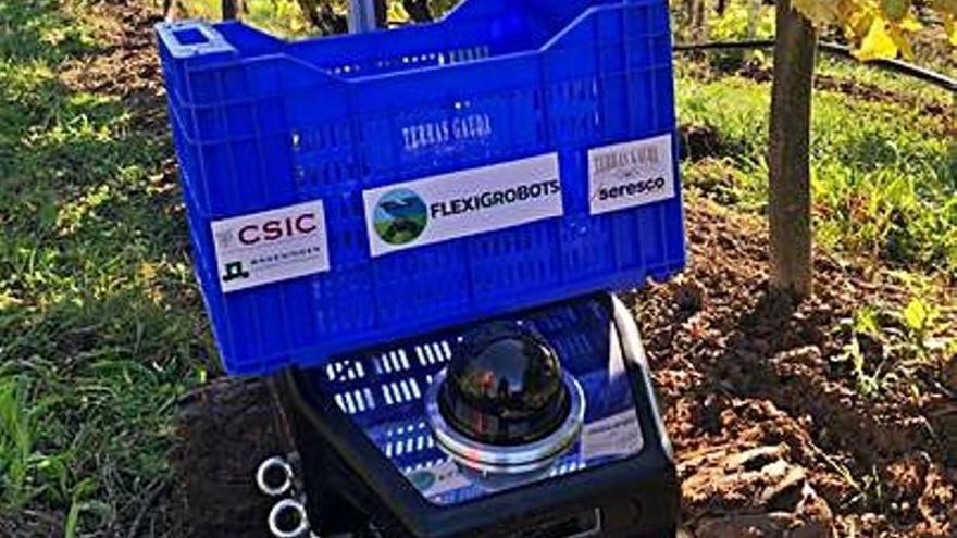 La asturiana Seresco participa en un proyecto para usar robots en la vendimia