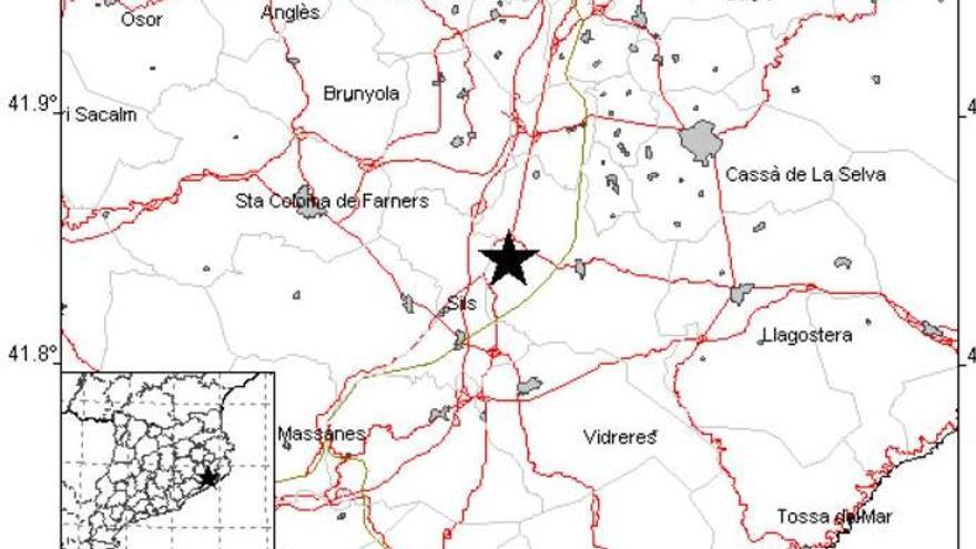 Un petit terratrèmol de magnitud 2,4 sacseja la Selva