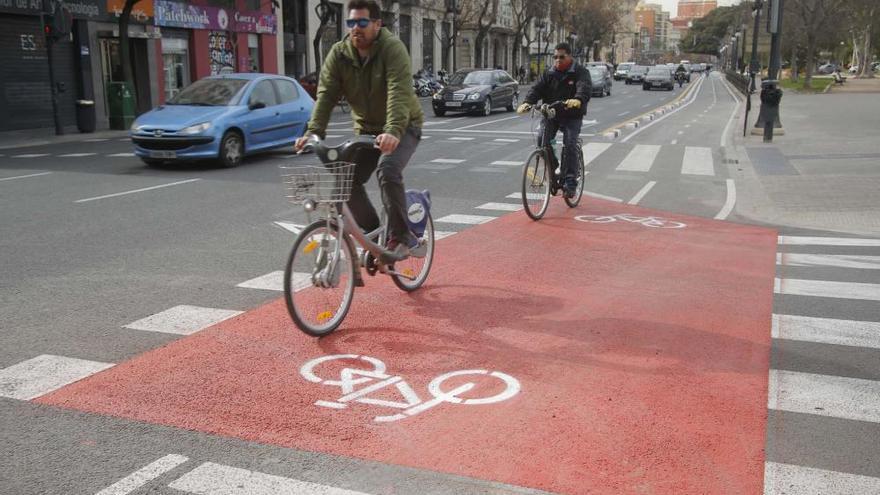 València abre mañana el anillo ciclista al completo