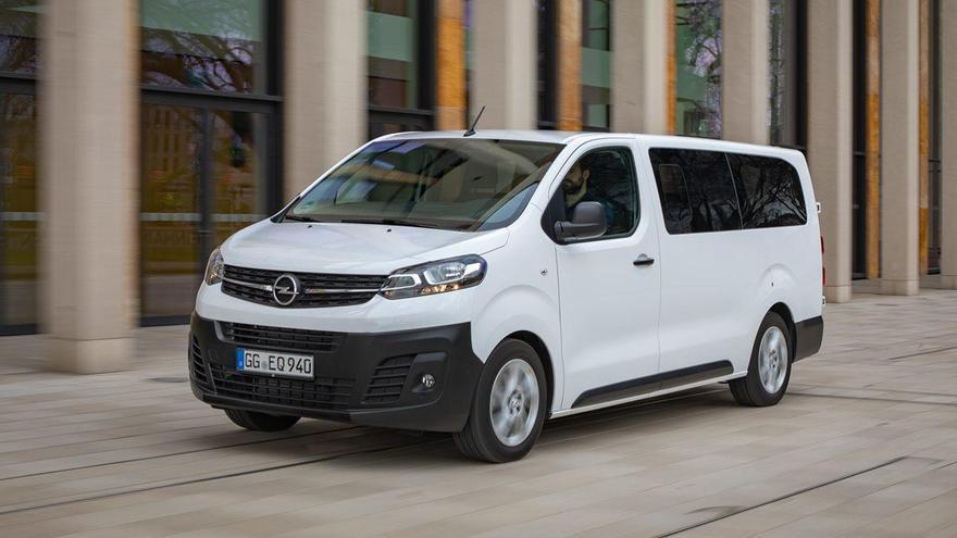 Opel Vivaro Combi, màxima polivalència
