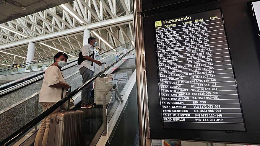 El aeropuerto de Palma roza 2.100 vuelos este fin de semana