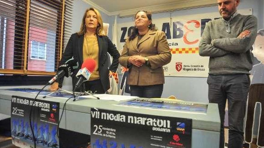 La Media Maratón Solidaria se celebra el día 25 y espera superar los 500 corredores