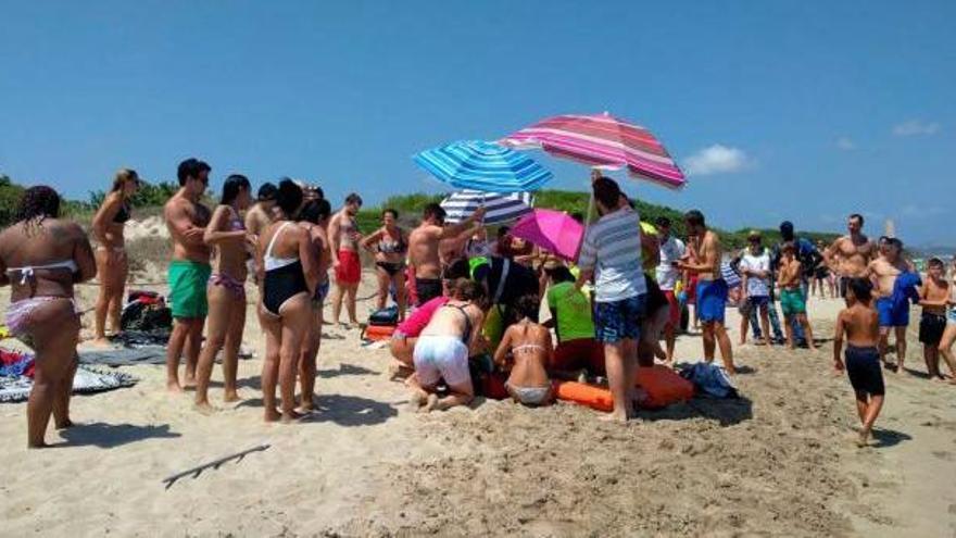 Rote Flagge: Urlauber an der Playa de Muro vor dem Ertrinken gerettet