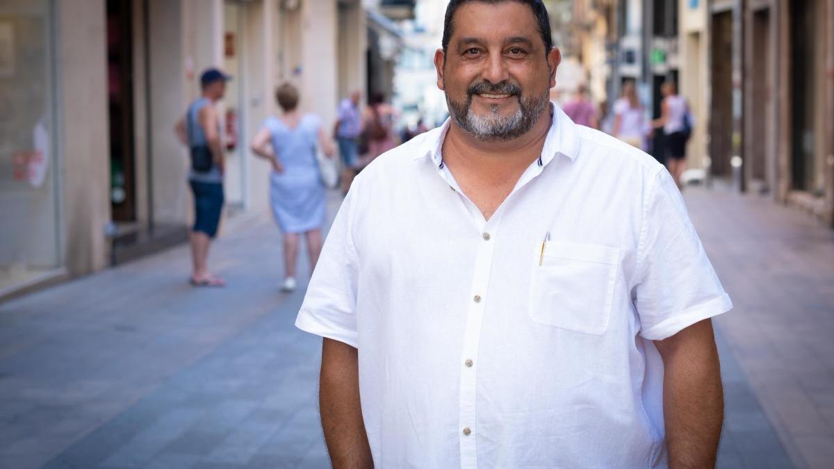 El regidor de Guanyem Figueres, José Castellón.