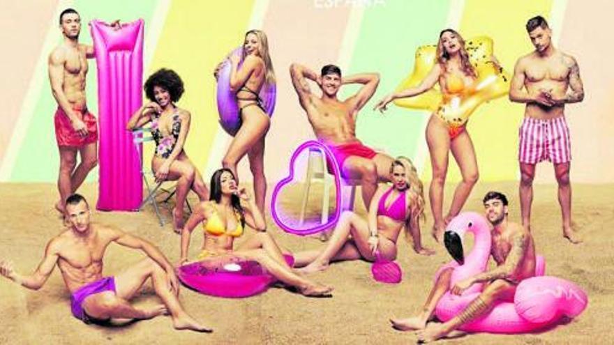 'Love Island', el nuevo 'reality' de citas playeras, llega hoy a Neox