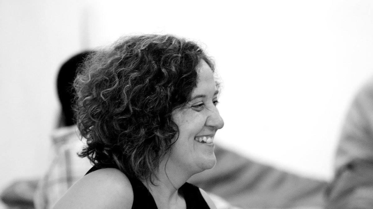The Galician narrator Paula Carballeira.